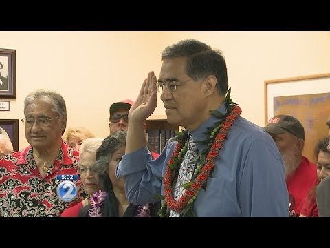 Hannemann, Chang file election papers under Hawaii
