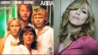 Скачать ABBA VS Madonna Gimme Gimme Gimme 1980 Hung Up 2005 Sub Español