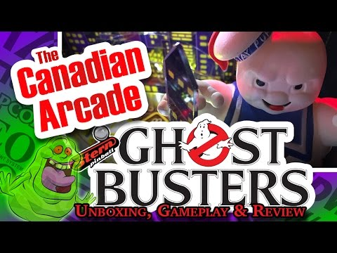 Stern Ghostbusters Pinball Unboxing, Review, and Gameplay