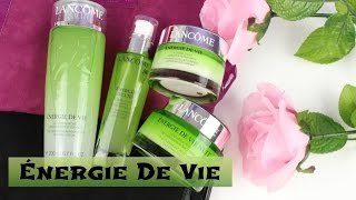 Lancôme Énergie De Vie [FIRST IMPRESSION] | HUEYYROUGE