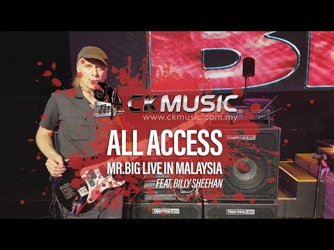 Billy Sheehan - CK Music All Access - Mr Big Live in Malaysia