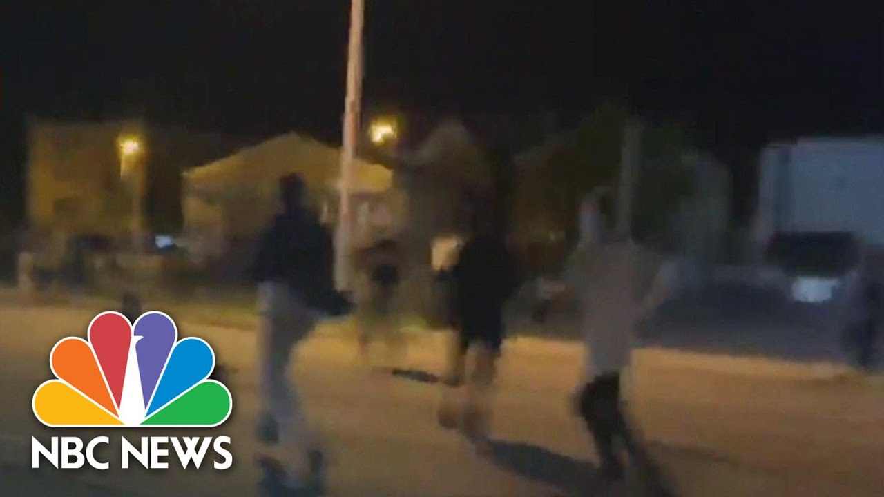17-Year-Old Arrested After Fatal Shooting At Jacob Blake Protest In Kenosha | NBC News NOW