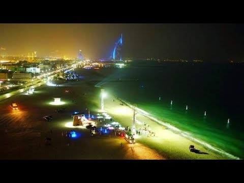 Now experience night swimming at this Dubai beach