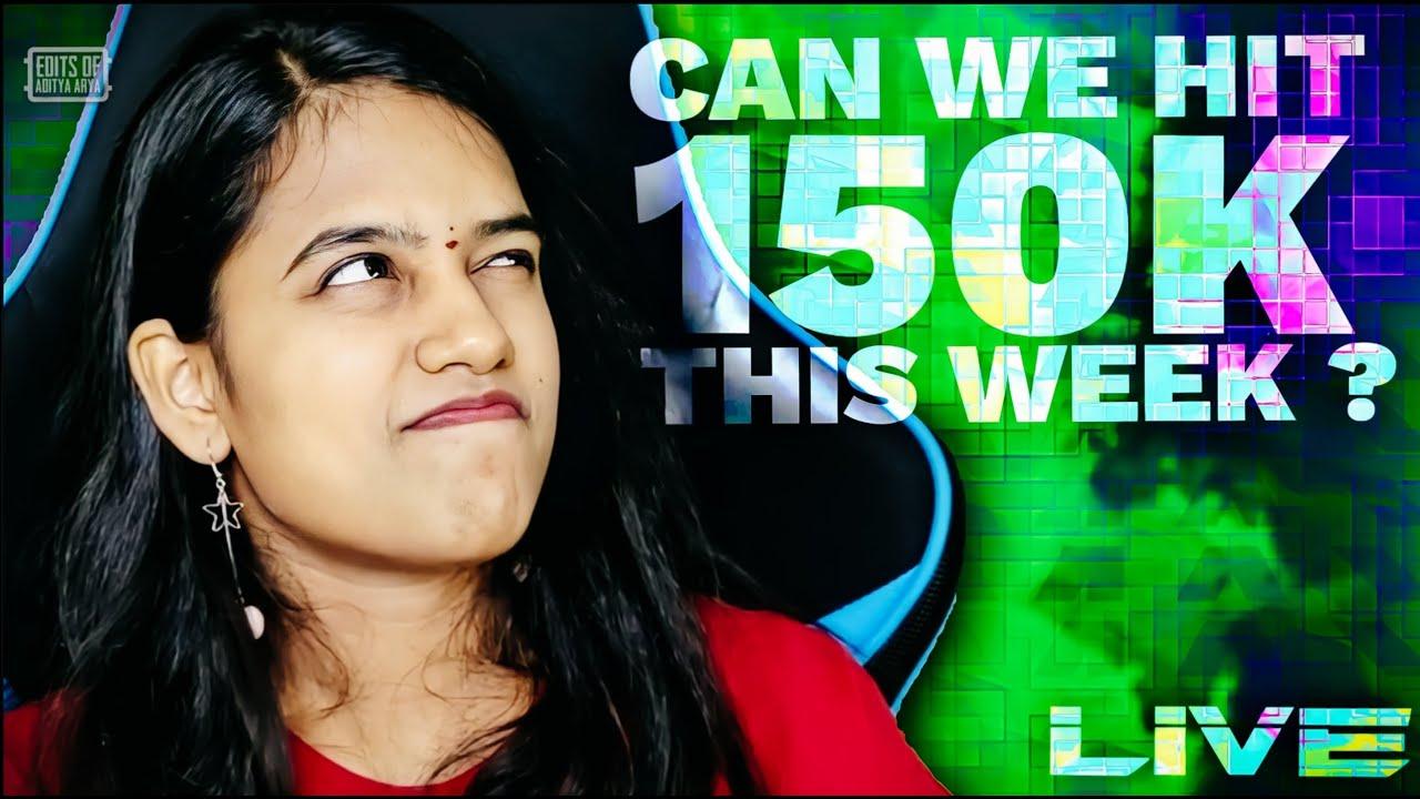 Download Room Matches | Natasha Gaming PUBG Live | Can we hit 150K this week?
