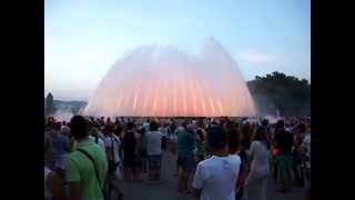 Испания. Барселона. Площадь Испании. Поющие фонтаны.Серия 3(, 2013-07-28T05:21:35.000Z)