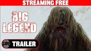 BIG LEGEND Trailer - Bigfoot Horror Movie