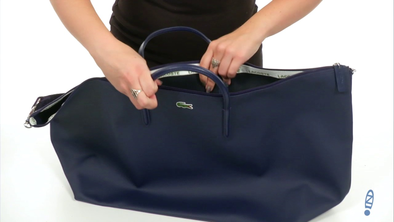 74406b66a7 Lacoste L.12.12 Concept Travel Shopping Bag SKU:8837178 - YouTube