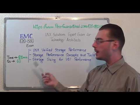 E20-880 – VNX Exam Solutions Expert Test Technology Questions
