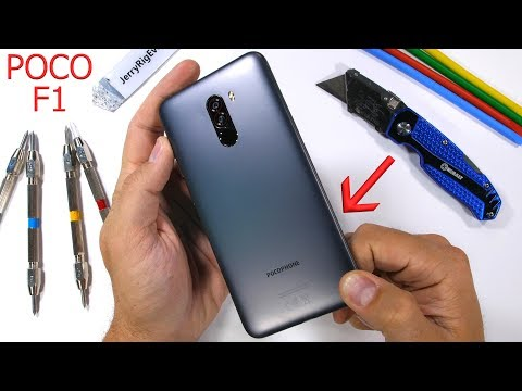 Pocophone F1 Durability Test - Can 'Cheap' also be 'Durable'?