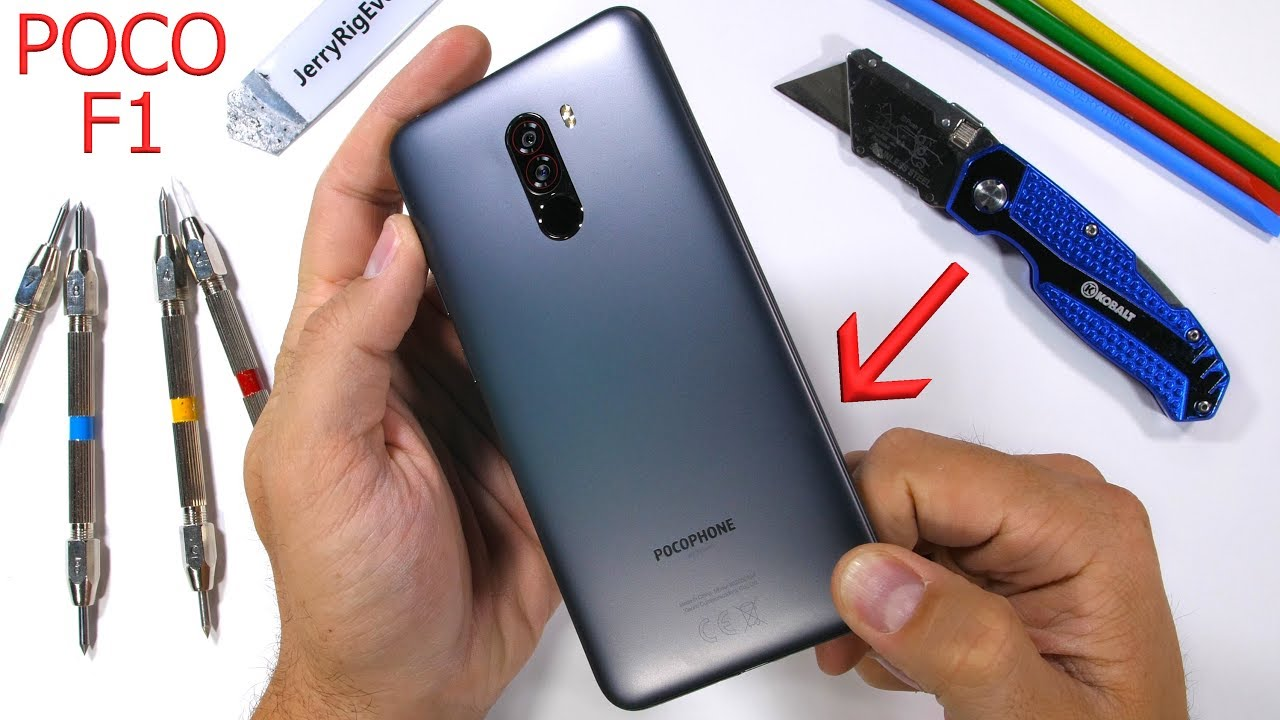 Bad Set Poco Pocophone F1 Durability Test Can Cheap Also Be Durable