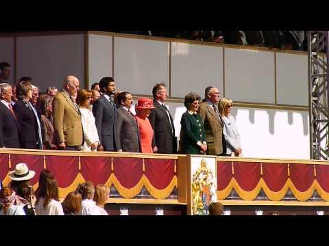 King Hamad bin Isa Al Khalifa and Queen Elizabeth II