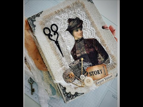 Sewing Theme Junk Journal For Sale