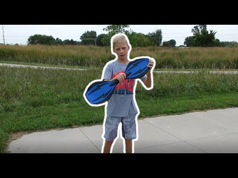 HOW TO RIDE A RIPSTIK - (For Beginners) - YouTube