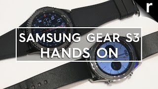Samsung Gear S3 hands-on review