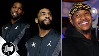 Kevin Durant, Kyrie Irving and Carmelo Anthony to the Knicks? | The Jump