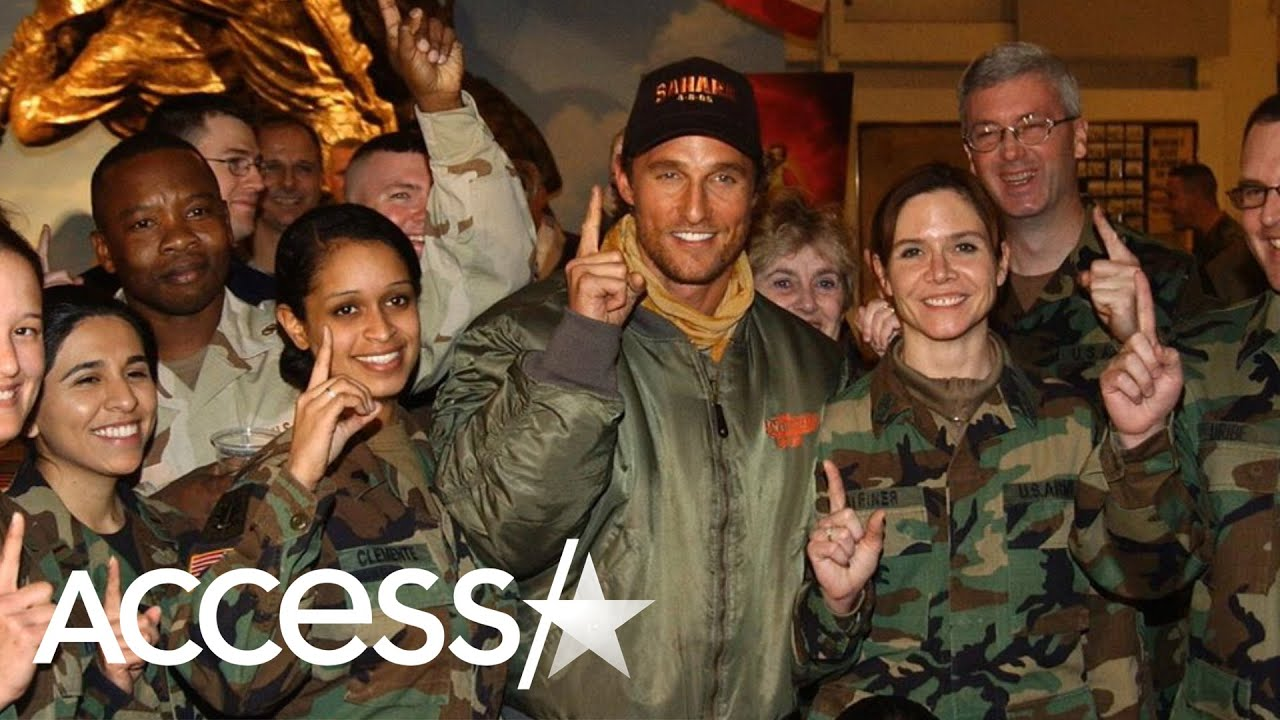 Matthew McConaughey honors troops in Instagram post: 'Thank you ...
