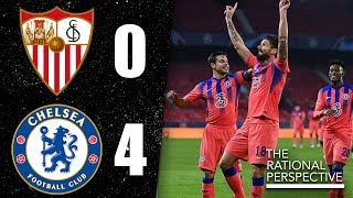 GIROUD Scores FOUR GOALS as Chelsea WIN Group! Sevilla 0-4 Chelsea Champions League