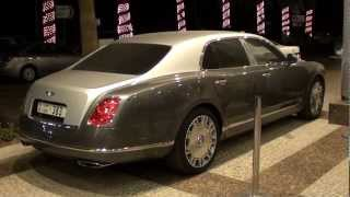 Bentley Mulsanne silver/grey two-tone @ JBR The Walk Dubai Marina