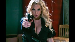 $exy & Corrupt Lady Cop Summer Brielle And The Two Criminals