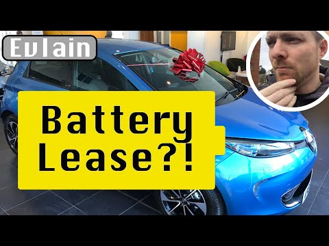 New Renault Zoe R110 True Cost part 2 - Battery lease!