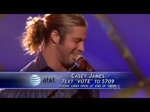 Casey James - Lawdy Miss Clawdy - American Idol season 9 Top 8 Performance