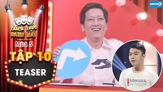 Thách thức danh hài 5|Teaser tập 10: Mượn sân khấu để cưa crush, thí sinh bị Trường Giang loại gấp?