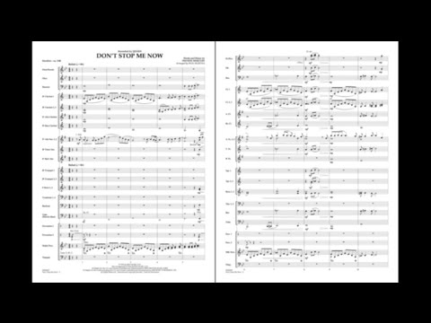 Don't Stop Me Now by Freddie Mercury/arr. Paul Murtha