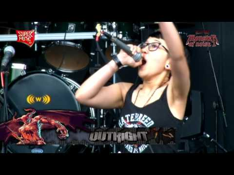 OUTRIGHT ( Part.2 ) Live at HELLPRINT - MONSTER OF NOISE 2