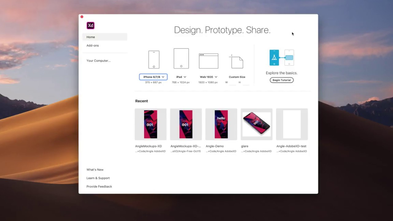 Angle Plugin XD | 500 Devices and Mockups for XD and Sketch