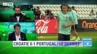 L'énorme déception Croatie-Portugal