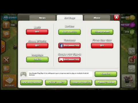 How Add New Account To COC Without Uninstalling.| GAMING