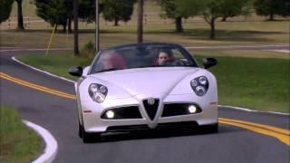 Road Test: 2010 Alfa Romeo 8C Spider