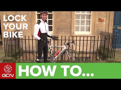 How To Lock Your Bike - Secure Your Bicycle From Thieves