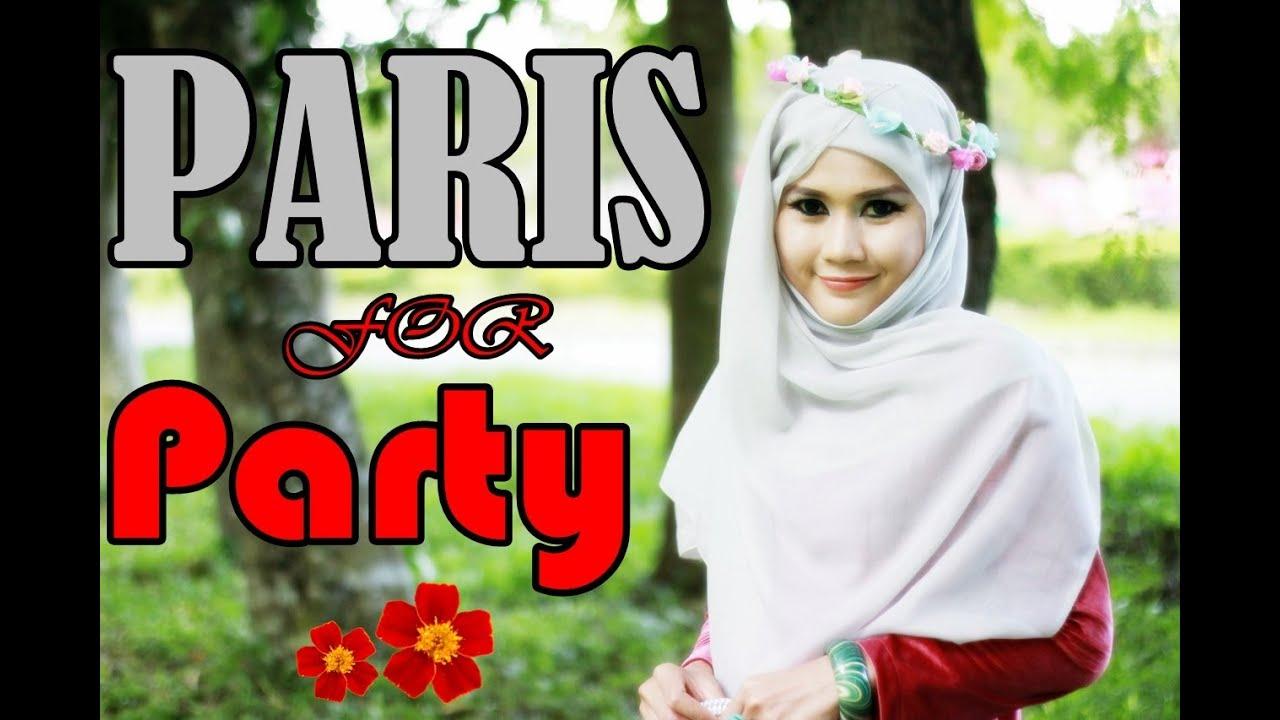 Tutorial Hijab Segi Empat Pesta Menutup Dada By Didowardah 47