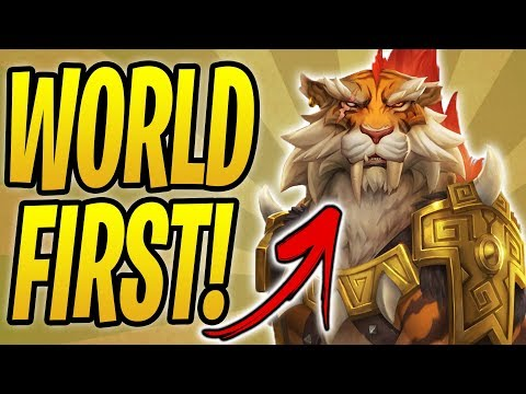 *WORLD FIRST* SHIRVALLAH OTK COMBO! | Shirvallah, the Tiger | Rastakhan's Rumble | Hearthstone