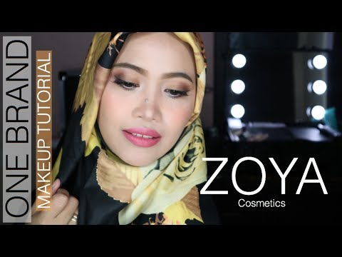One Brand Makeup Tutorial Zoya | Sawitri Murwani