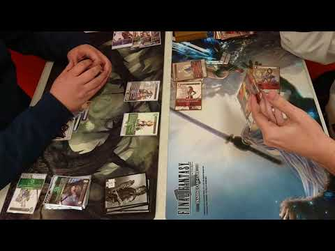 Team Calamity FFTCG - Wind/Water Zemus vs Mono Fire Aggro