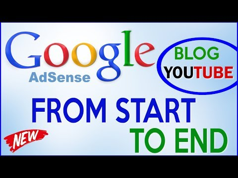 ADSENSE TUTORIAL 2018   How To Setup Google Adsense - Make Money With BLOG & YouTube (STEP BY STEP)