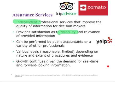 22522 Autumn 2016 - Topic 1 - the demand for assurance services