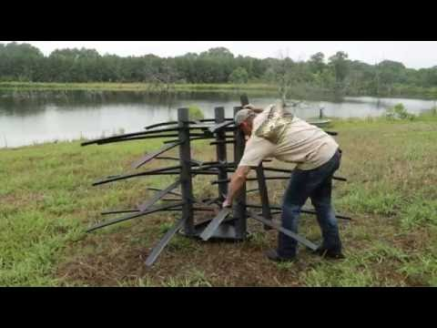 How To Build Fish Habitat | Gamekeepers Mossback Fish Habitat