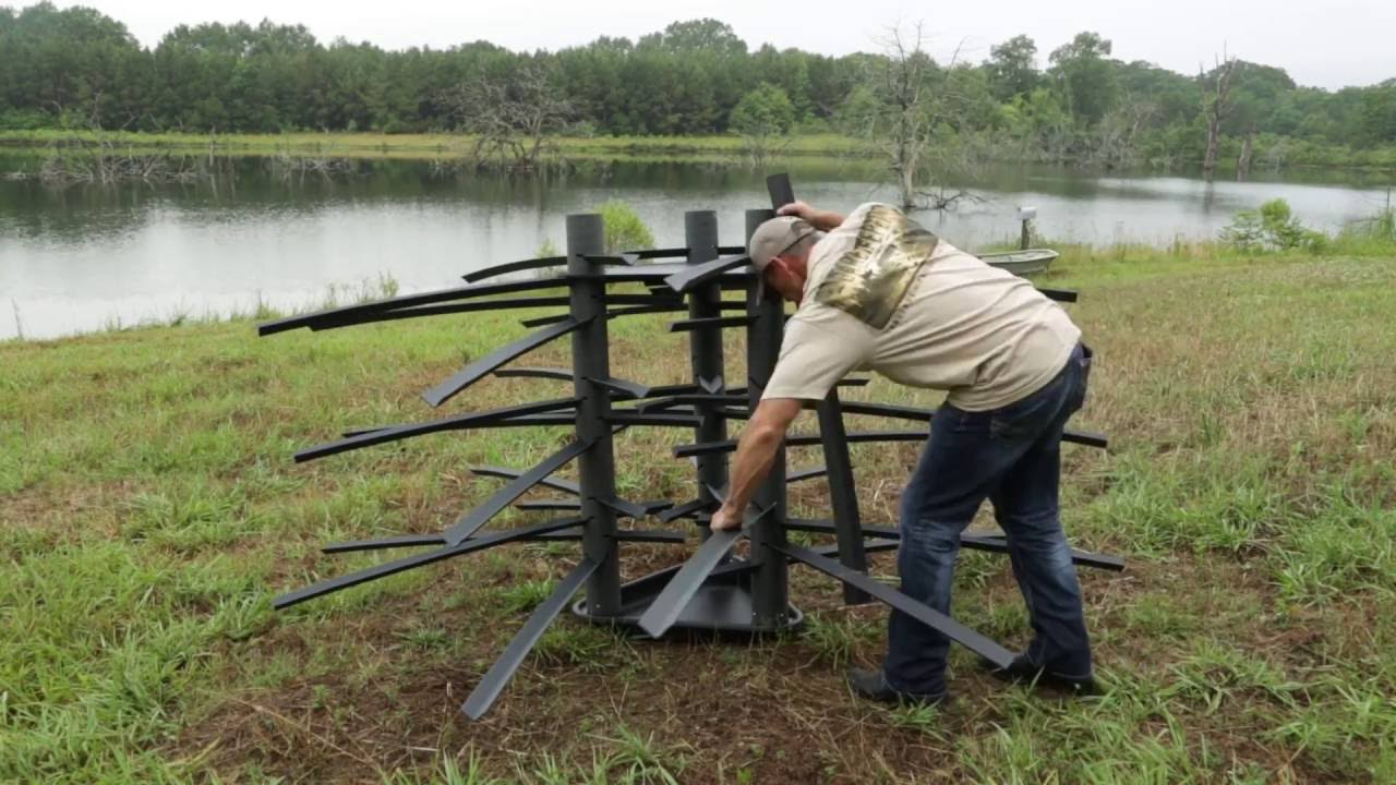 How to build fish habitat gamekeepers mossback fish for Nd game and fish stocking report