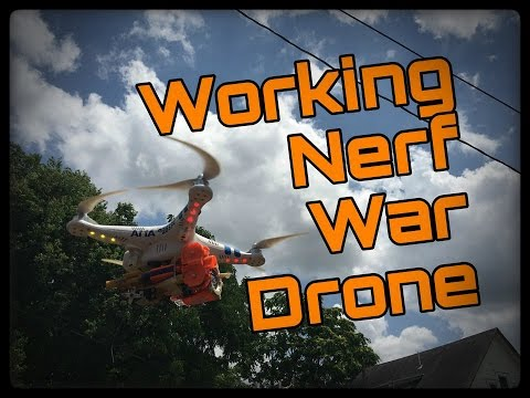 BATTLE READY NERF DRONE HACK!