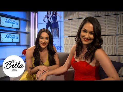 The Bella Twins take over media day! (and Nikki gets a new woman crush!)