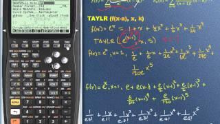 HP 50G: Series de Taylor y Maclaurin, 2 de 2
