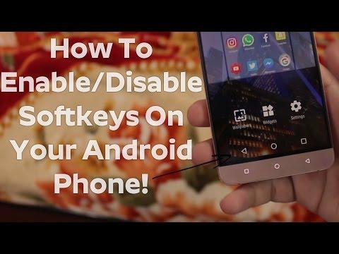 How To Enable/Disable Soft Keys(Navigation Bar) On Android Phone | Enable Softkeys On Android Phone!
