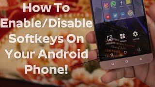 How To Enable/Disable Soft Keys(Navigation Bar) On Android Phone | Enable Softkeys On Android Phone! screenshot 2