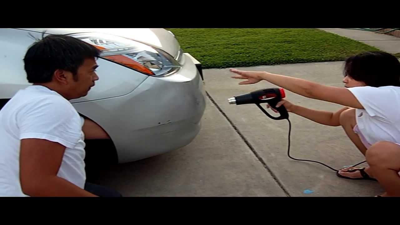 prius bumper repair  Fixing Prius bumper in 5 mins - YouTube