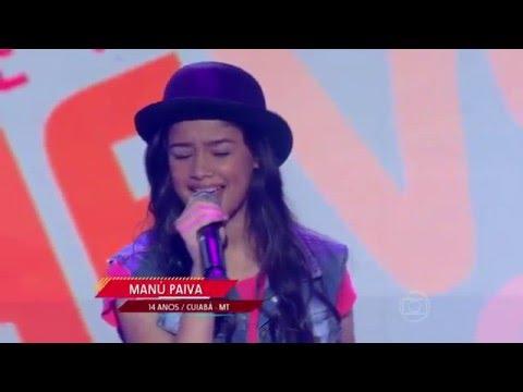 Manú Paiva canta 'Who's Lovin' You' no The Voice Kids - Audições|1ª Temporada