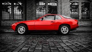 Porsche 924 125hp 1985 POV test drive by seen through cars
