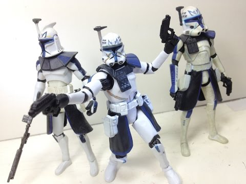 "STAR WARS the black series CAPTAIN REX phase II 3.75/"" the clone wars #09"